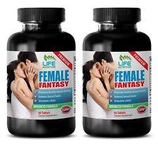 Women Enhancers Pill - Female Fantasy 742mg - Horny Goat Weed 1000 2B