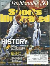 GOLDEN STATE WARRIORS STEPHEN CURRY 2016 SPORTS ILLUSTRATED 2X MVP 4X ALL STAR