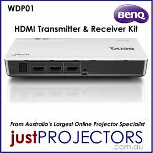 BenQ WDP01 Wireless HDMI Transmitter Receiver Kit. Aussie Release, Refurb