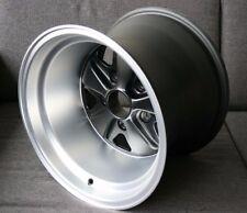 Porsche Fuchs 15x11 Wheel - NEW Replica TUV approved ET27 Matte Black