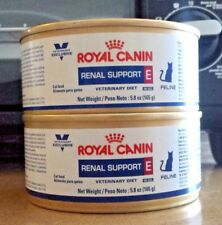 Royal Canin Veterinary Kidney Diet Renal Support E Canned Cat Food 2-5.8 oz cans