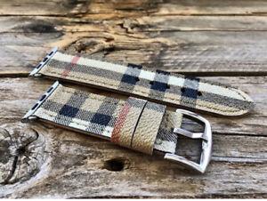 Apple Watch Burberry handmade strap