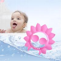 Baby Bathing Shower Cap Shampoo Bath Eye&Ear Protective Hat Kids EVA Adjustable