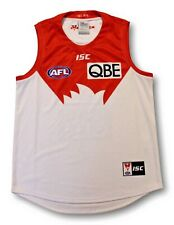 Mens 2018 Sydney Swans Home Football Jumper Guernsey Size L As New