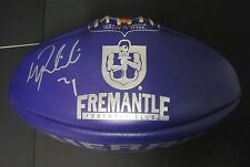 Geelong - Patrick Dangerfield signed Red Sherrin Football (Sponsor : AFL/Toyota)