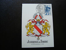 FRANCE - carte 1er jour 11/3/1950 (journee du timbre) (cy83) french (T)