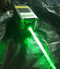PWM/TTL Focusable 520nm 1000mW Green Laser Dot Module/Gift Goggles