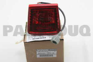 265801EL1A Genuine Nissan LAMP ASSY-FOG,REAR 26580-1EL1A