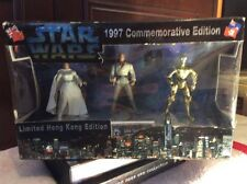 STAR WARS Vintage 1997 Hong Kong Commemorative Limited Edition HEROES MIB Rare!