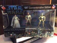 STAR WARS Vintage 1997 Hong Kong Commemorative Limited Edition HEROES MIB Rare!