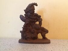 Cast Iron Jester Doorstop