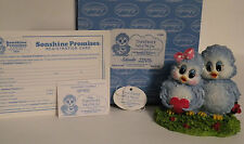 """Sonshine Promise Product # 7005 """"SHARED LOVE IS TWICE THE JOY"""" 3 1/2"""" Tall NIB"""