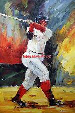 "24x36"" (61x92cm)100% hand painted oil flat,Sports,Basketball,Baseball,Soccer"