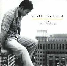 Real As I Wanna Be; Cliff Richard 1998 CD, Can't Keep This Feeling In, Vita Mia,