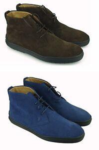 TOD'S MEN'S SHOES POLACCHINI $600 ANKLE BOOTS  男鞋 100%AUTENT