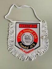 Clyde FC Glasgow fanion vintage foot football banderin pennant wimpel