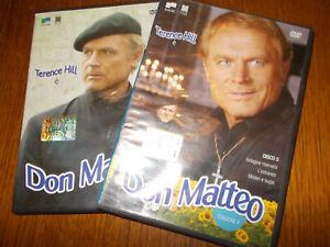 LOTTO 2 DVD DON MATTEO 6 EPISODI TOTALI - TERENCE HILL