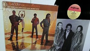 RAY GOODMAN & BROWN - All About Love NM EX 1985 MODERN SOUL Funk + INNER