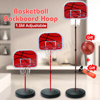 Indoor Home Office Portable Mini Basketball Net Hoop Backboard w/ Ball Goal Kit