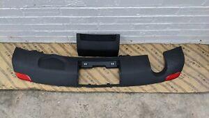 Original AUDI A1 Rear Bumper Diffuser 2010 TO 2015 8X0807421