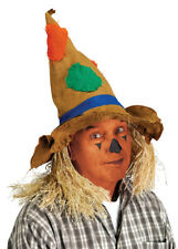 Deluxe Scarecrow Hat with Straw