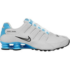 Nike Shox NZ White turquoise aqua University Blue Men's Shoes limited