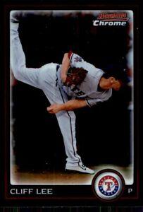 2010 Bowman Chrome Cliff Lee Texas Rangers #177