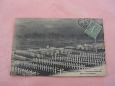 carte postale  vers 1900  cimetiere us   belleau