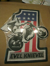 Evel Knievel Tin Sign New in Package Harley Davidson