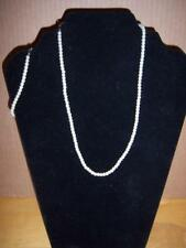 New 2pc Set Necklace & Matching Bracelet, Pearl Style Beads, T2