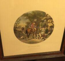 """Original antique engraving by E.G.Hester """"The Return Home"""" 1877"""