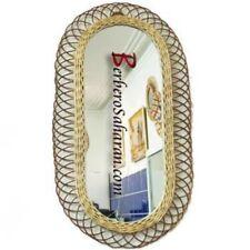 Extra Large Handmade Algerian Wicker mirror #2