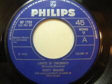 """Scott Walker – Lights of Cincinnati 1969 7"""" Philips BF 1793"""
