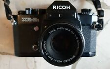 RICOH XR-2s OBIETTIVO PENTAX 50mm 1.2 possibilità borsa e zoom SAMYANG 70-210