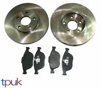 FORD TRANSIT CONNECT FRONT BRAKE PADS AND DISCS 2002 ON BRAND NEW SET