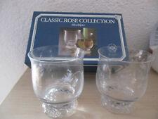 Rosenthal Monbijou Glas 2 Weinbecher