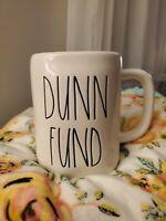 """New"" Rae Dunn by Magenta LL  ""DUNN FUND"" Coffee Mug."