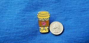 Disney Coffee Cup Pin 2021 Mystery Blind Pack Collectible Pin - Princess Belle