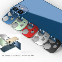 For iPhone 12 Phone Series Camera Lens Protective Film Protector Rear Aluminum
