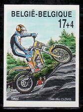 Belgium ScB1150 Motorcycle, Trial, Imperf.