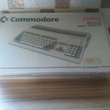 More details for commodore amiga 500 plus + original box with mouse, tv scart, dejavu disc