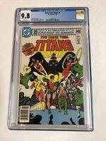New Teen Titans (1980) # 1 (CGC 9.8 WP) George Perez