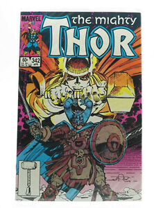 THOR #342 1984 Marvel Comics FN Free Shipping