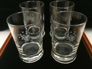 Air France CONCORDE Presidential Service Glasses Set of 4