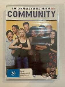 COMMUNITY - The complete second season (DVD R4 4disc Set) New/sealed