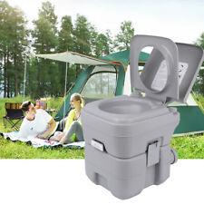 20L Tragbare Mobil WC Toilette Camping-Wohnwagen Toiletteneimer Reise-WC