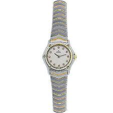 EBEL Quarz - (Batterie) Armbanduhren mit Datumsanzeige