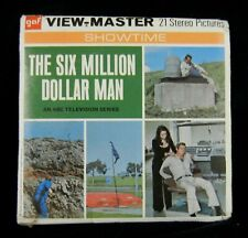 Six Million Dollar Bionic Man 1974 View-Master Packet from Season 1 / Episode 10