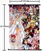 Anime Sailor Moon Crystal Wall Scroll Home Decor Poster Cosplay Gift 1378
