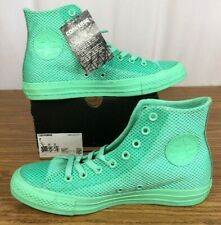 🚨 Converse Chuck Taylor All Star Hi Top Green Glow Turquoise Tiffany Size 7